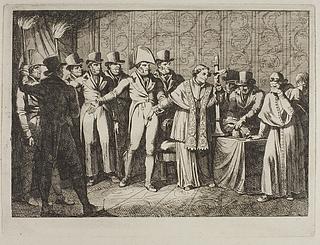Pius 7. bortføres af de franske natten 6. juli 1809
