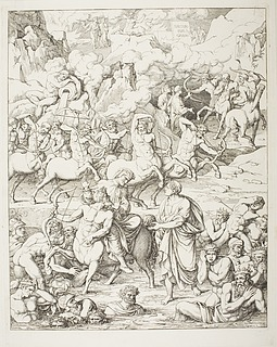Dante krydser floden af blod på kentauren, 7. kreds ydre ring