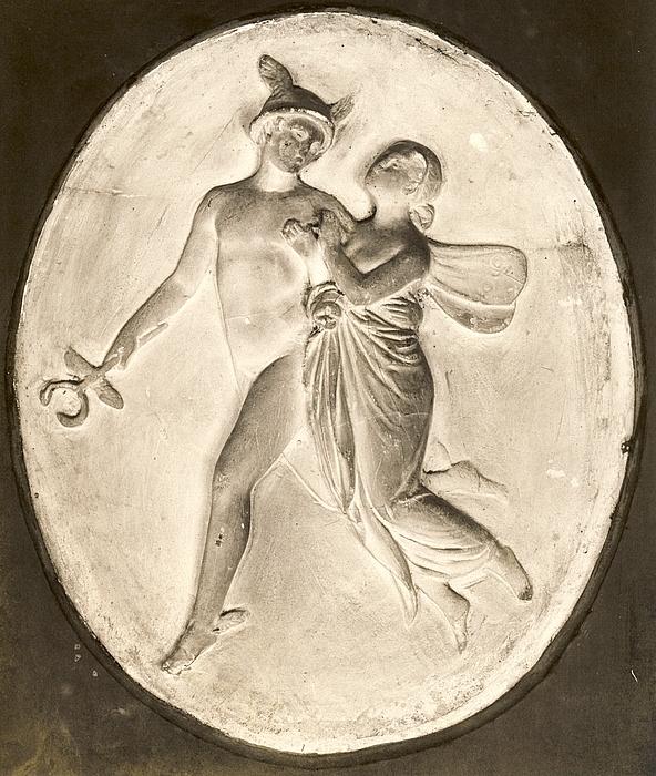 Psyche og Merkur