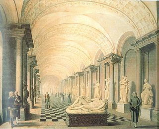 Pehr Hilleström: Stora galleriet, 1790'erne - Public domain