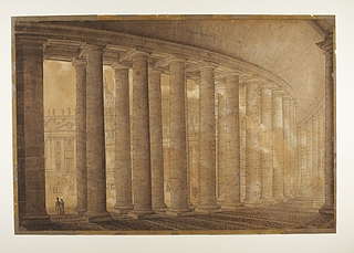 Peterspladsens højre kolonnade