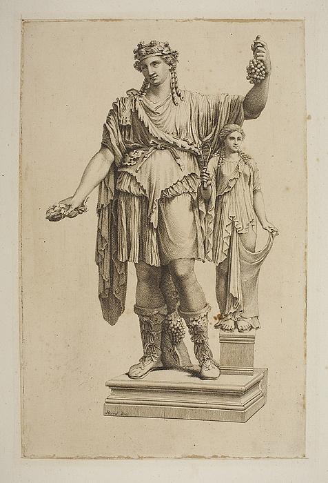Bacchus med Håbets gudinde eller Spes