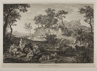 Apollo unter den hirten ( Apollon mellem thessaliske hyrder )