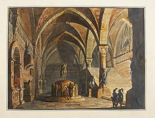 Italiens gravkapel fra Middelalderen