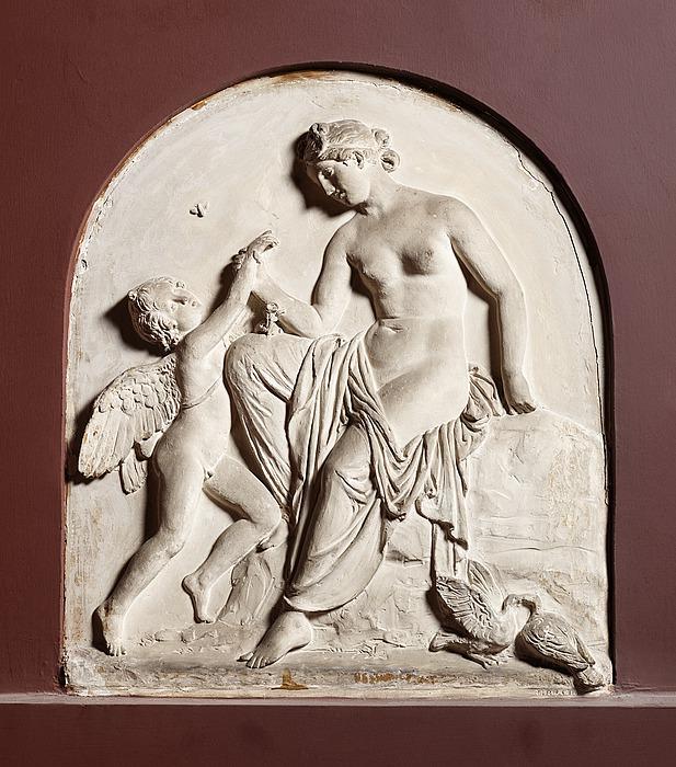 Amor klager til Venus over et bistik