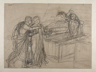Dante og Vergil møder Farinata degli Uberti