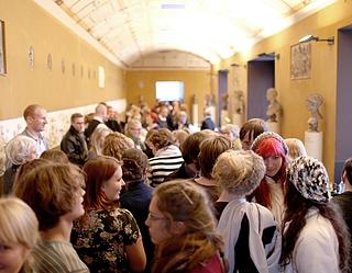 Unge øjne på antikken, Thorvaldsens Museum, 2010-2011