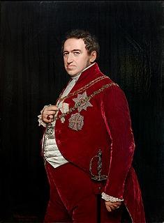 J.V. Gertner, Portræt af Christian 8., 1845, Gisselfeld