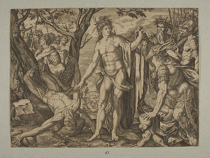 Apollon og Marsyas