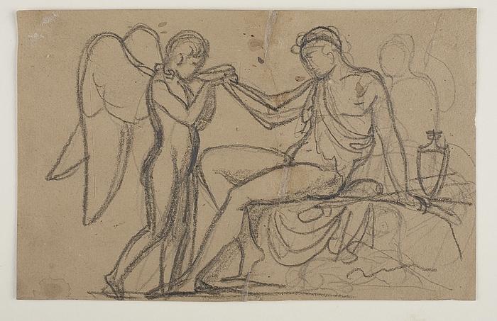 Bacchus giver Amor at drikke