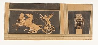 Amorin driver to stejlende heste frem. Trefod