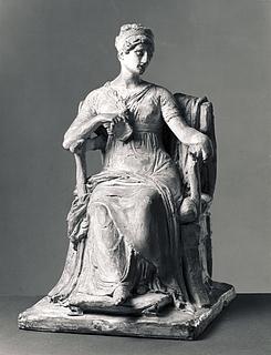 Siddende dame
