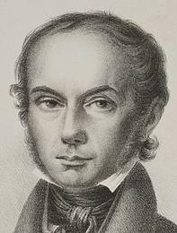 N.B. Krossing efter Christen Købke: N.L. Høyen, 1830