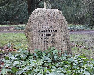 Magnússons gravmæle på Assistens Kirkegård