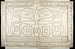 Relief med offergaver og hieroglyffer