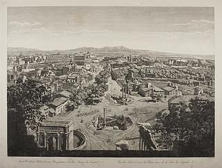 Udsigt over Rom fra Capitol