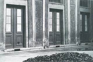 Thorvaldsens Museums gård 1923 - Copyright tilhører Thorvaldsens Museum