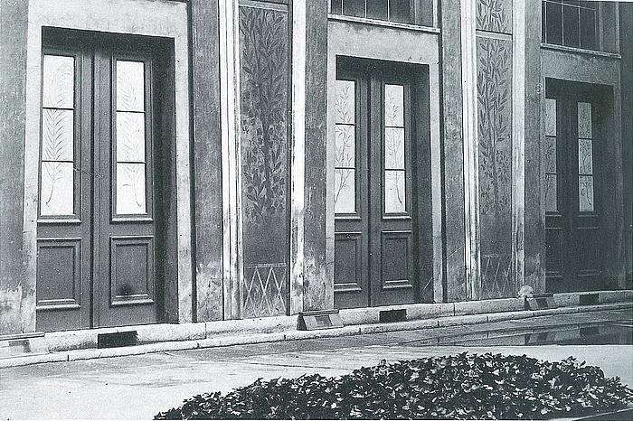 Thorvaldsens Museums gård 1923