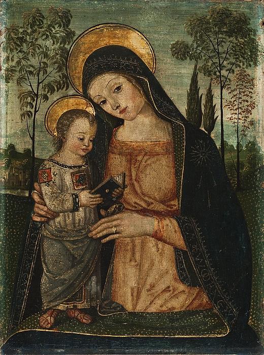 Jomfru Maria med Jesusbarnet