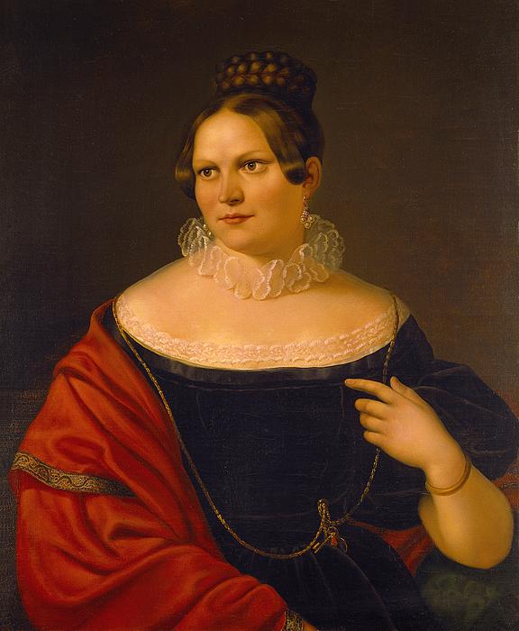 Portræt af Elisa Paulsen, Thorvaldsens datter