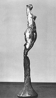 Joseph Beuys, Tierfrau, 1949, støbt i bronze 1984 i syv eksemplarer