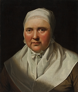 Portræt af maleren Jens Juels mor Vilhelmine Elisabeth