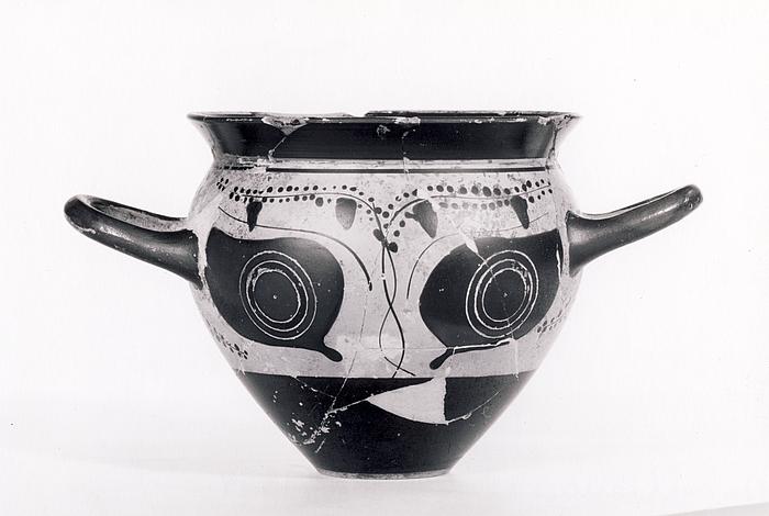 Drikkekop med øjne (A,B). Græsk