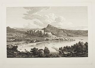 Prospekt af Karthæas ruiner på øen Ceos