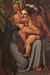J.L. Lund: Udsnit af Andromache i afmagt ved synet af Hektors lig, 1807, olie på lærred. 248 x 313 cm (beskåret, oprindelig 264 x 320 cm), Den danske stat, deponeret i Den danske ambassadørs bolig, Rom
