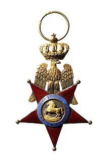 Ridderkors til ordenen af Begge Sicilier, avers