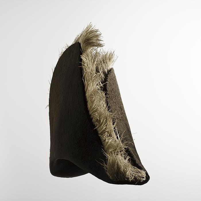 Thorvaldsens hat tilhørende hans uniform for det franske kunstakademi Institut de France