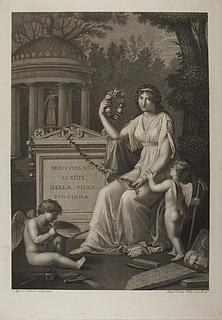 Monumenti scelti della villa Pinciana, titelblad