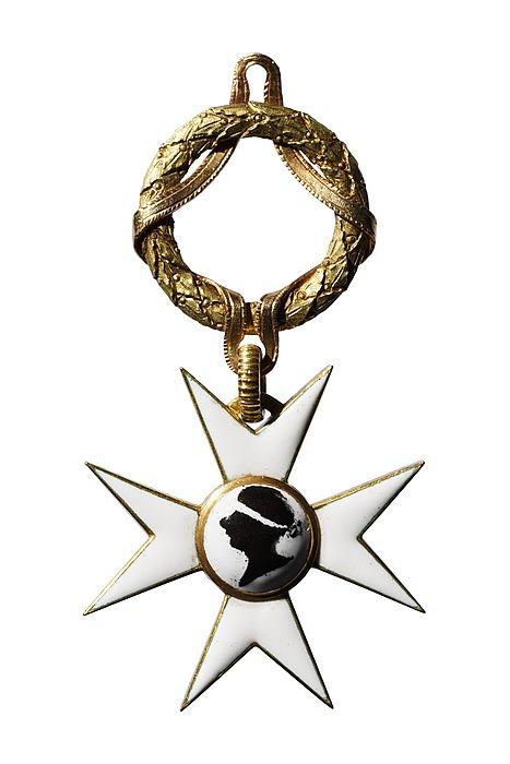 Korset til Pro Merito-orden fra Accademia di S. Luca