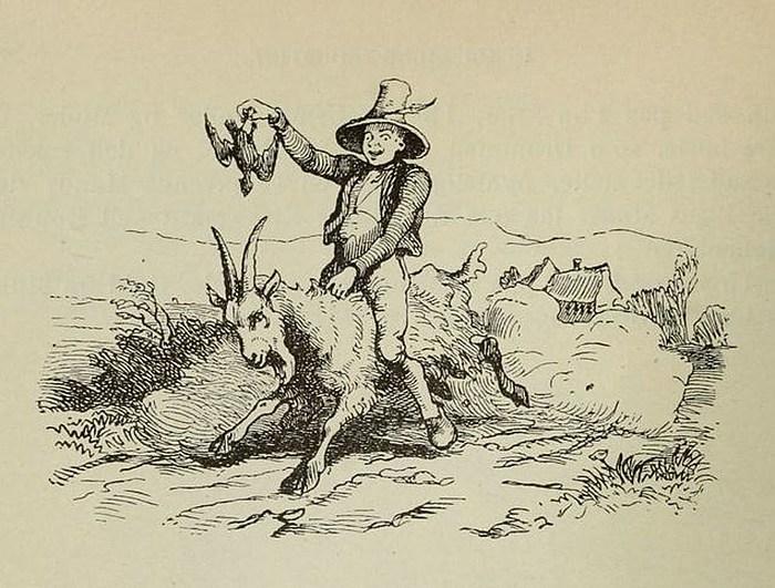 Vilhelm Pedersen, Klods-Hans, 1855