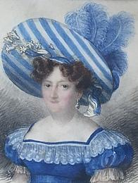 Giovanni Busato: Portræt af Charlotte Frederikke