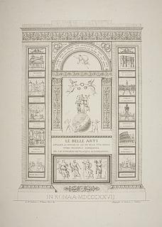 Le Belle Arti Opera Philosophica Iconographica
