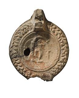 Lampe med Venus, opsteget af badet. Romersk