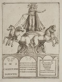 Gudinde på quadriga