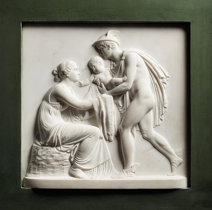 Merkur bringer Bacchus til Ino