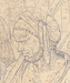 Kristi gang til Golgatha, detalje