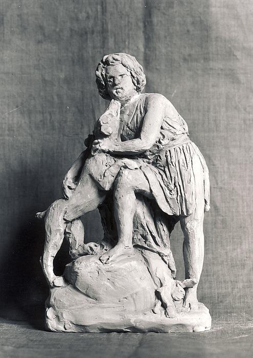 Pietro Alberto Paulsen som jægerdreng