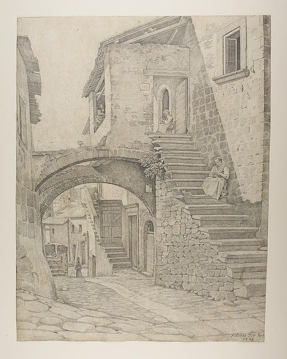 En gade i Viterbo