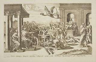 Martyrium of Sankt Cecilia