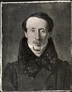 Albert Küchler: H.C. Andersen, eventyrdigter, 1834
