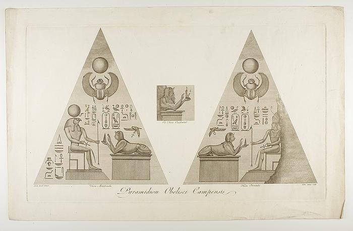 Obeliscus Campensis' pyramidion