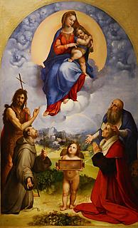 Rafael: Madonna di Foligno, 1511 (Public domain, Wikipedia)
