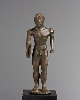 Atlet. Etruskisk statuette