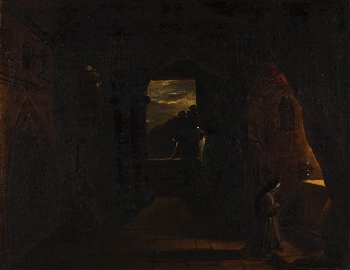 Natstykke: nonner i et kloster