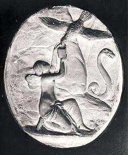 Jupiters ørn og Psyche