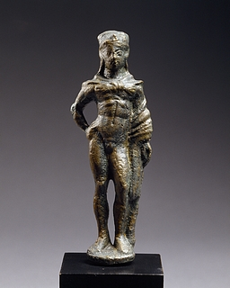 Den unge Herkules. Romersk statuette